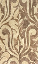 Декор 30х50 Saloni brown decor 01