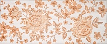 Декор 25х60 Fabric beige decor 01