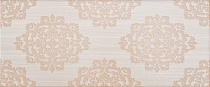 25х60 Fabric beige wall 03